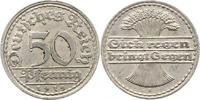 50 Pfennig 1919  F Weimarer Republik  Vorzüglich  18,00 EUR
