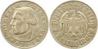 2 Mark 1933  D Drittes Reich  Randfehler, Kratzer, sehr schön  16,00 EUR