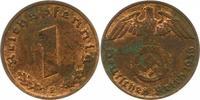 Reichspfennig 1936  E Drittes Reich  Fleckig, sonst vorzüglich  65,00 EUR