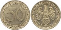 50 Reichspfennig 1939  A Drittes Reich  Vorzüglich  40,00 EUR