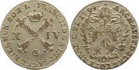 14 Liard 1794 Haus Habsburg Franz II.(I.) 1792-1835. Justiert, fast vor... 115,00 EUR