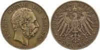 2 Mark 1900  E Sachsen Albert 1873-1902. Sehr schön  75,00 EUR