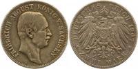 2 Mark 1907  E Sachsen Friedrich August III. 1904-1918. Berieben, sehr ... 50,00 EUR