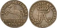 Braunschweig-Wolfenbüttel 4 Mariengroschen Feinsilber 1735 Sehr schön + ... 165,00 EUR  zzgl. 4,00 EUR Versand