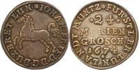 Braunschweig-Calenberg-Hannover 24 Mariengroschen Landmünze 1 1674 Schön... 95,00 EUR  zzgl. 4,00 EUR Versand