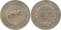 1/6 Ausbeutetaler 1856  A Anhalt-Bernburg Alexander Carl 1834-1863. Vor... 55,00 EUR  zzgl. 4,00 EUR Versand