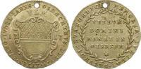 Silberabschlag von den Stempeln des Duka 1717 Ulm, Stadt  Gelocht, sehr... 45,00 EUR  zzgl. 4,00 EUR Versand