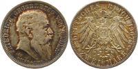 2 Mark 1907 Baden Friedrich I. 1856-1907. Schöne Patina. Vorzüglich - S... 62,00 EUR  zzgl. 4,00 EUR Versand