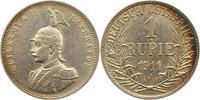 Rupie 1911  J Deutsch Ostafrika  Schöne Patina. Sehr schön +  95,00 EUR  +  4,00 EUR shipping