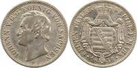 1/6 Taler 1855  F Sachsen-Albertinische Linie Johann 1854-1873. Fast se... 18,00 EUR  zzgl. 4,00 EUR Versand