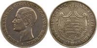 Taler 1866 Sachsen-Weimar-Eisenach Carl Alexander 1853-1901. Sehr schön  135,00 EUR  zzgl. 4,00 EUR Versand
