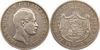 Taler 1863 Hessen-Kassel Friedrich Wilhelm I. 1847-1866. Sehr schön  85,00 EUR  zzgl. 4,00 EUR Versand