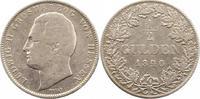 1/2 Gulden 1840 Hessen-Darmstadt Ludwig II. 1830-1848. Schön  30,00 EUR  zzgl. 4,00 EUR Versand
