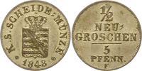 1/2 Neugroschen 1851  F Sachsen-Albertinische Linie Friedrich August II... 22,00 EUR  zzgl. 4,00 EUR Versand