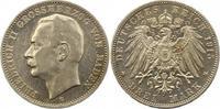 3 Mark 1915  G Baden Friedrich II. 1907-1918. Berieben, fast vorzüglich  75,00 EUR  zzgl. 4,00 EUR Versand