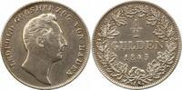 1/2 Gulden 1845 Baden-Durlach Leopold 1830-1852. Winz. Kratzer, sehr sc... 39,00 EUR  zzgl. 4,00 EUR Versand