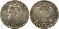 2 Mark 1908  D Bayern Otto 1886-1913. Winz. Kratzer, sehr schön +  20,00 EUR  zzgl. 4,00 EUR Versand