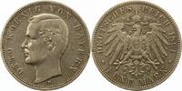 5 Mark 1891  D Bayern Otto 1886-1913. Randfehler, sehr schön  38,00 EUR  zzgl. 4,00 EUR Versand