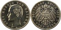 5 Mark 1899  D Bayern Otto 1886-1913. Stark poliert, sehr schön  32,00 EUR  zzgl. 4,00 EUR Versand