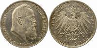 3 Mark 1911  D Bayern Luitpold. Fast Stempelglanz  38,00 EUR  zzgl. 4,00 EUR Versand