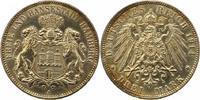3 Mark 1914  J Hamburg  Leicht berieben, , fast vorzüglich  22,00 EUR  zzgl. 4,00 EUR Versand