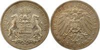 5 Mark 1891  J Hamburg  Sehr schön  52,00 EUR  zzgl. 4,00 EUR Versand