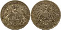 5 Mark 1895  J Hamburg  Sehr schön  42,00 EUR  zzgl. 4,00 EUR Versand