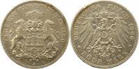 5 Mark 1900  J Hamburg  Winz. Randfehler, sehr schön  33,00 EUR  zzgl. 4,00 EUR Versand
