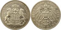 5 Mark 1901  J Hamburg  Sehr schön  33,00 EUR  zzgl. 4,00 EUR Versand