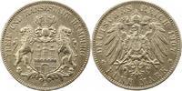 5 Mark 1907  J Hamburg  Sehr schön  33,00 EUR  zzgl. 4,00 EUR Versand