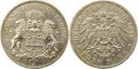 5 Mark 1913  J Hamburg  Vorzüglich  42,00 EUR  zzgl. 4,00 EUR Versand