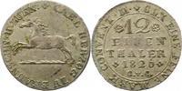 1/12 Taler 1826 Braunschweig-Wolfenbüttel Karl 1815-1830. Sehr schön  22,00 EUR  zzgl. 4,00 EUR Versand