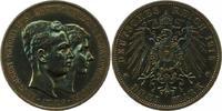 3 Mark 1915 Braunschweig Ernst August 1913-1916. Dukle Patina. Sehr sch... 165,00 EUR  zzgl. 4,00 EUR Versand