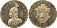 Rupie 1890 Deutsch Ostafrika  Erstabschlag. Haarlinien, fast Stempelglanz  245,00 EUR  zzgl. 4,00 EUR Versand