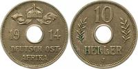 10 Heller 1914  J Deutsch Ostafrika  Winz. Kratzer, min. Randfehler, fa... 65,00 EUR  zzgl. 4,00 EUR Versand