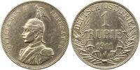 Rupie 1911  J Deutsch Ostafrika  Gereinigt, sehr schön  65,00 EUR  zzgl. 4,00 EUR Versand