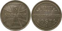 3 Kopeken 1916  A Oberbefehlshaber Ost  Vorzüglich +  35,00 EUR  zzgl. 4,00 EUR Versand