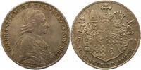 Taler 1783 Eichstätt, Bistum Johann Anton Freiherr v. Zehmen 1781-1790.... 295,00 EUR kostenloser Versand