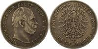 5 Mark 1876  A Preußen Wilhelm I. 1861-1888. Schön - sehr schön  28,00 EUR  zzgl. 4,00 EUR Versand