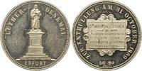 Zinnmedaille 1889 Erfurt-Stadt  Vorzüglich +  60,00 EUR  zzgl. 4,00 EUR Versand