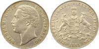Taler 1863 Württemberg Wilhelm I. 1816-1864. Sehr schön  95,00 EUR  zzgl. 4,00 EUR Versand