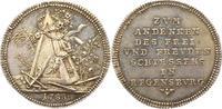 Medaillenförmiger Vierteltaler 1 1788 Regensburg-Stadt  Winzige Kratzer... 195,00 EUR  zzgl. 4,00 EUR Versand