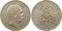 5 Mark 1875  E Sachsen Albert 1873-1902. Schön - sehr schön  55,00 EUR  +  4,00 EUR shipping
