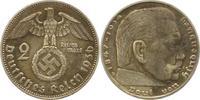 2 Mark 1936  D Drittes Reich  Sehr schön  6,00 EUR  zzgl. 4,00 EUR Versand