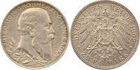 2 Mark 1902 Baden Friedrich I. 1856-1907. Winz. Kratzer, vorzüglich  25,00 EUR  zzgl. 4,00 EUR Versand