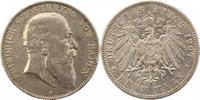 5 Mark 1907  G Baden Friedrich I. 1856-1907. Randfehler, Kratzer, sehr ... 35,00 EUR  zzgl. 4,00 EUR Versand