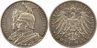 2 Mark 1901 Preußen Wilhelm II. 1888-1918. Winz. Kratzer, sehr schön +  14,00 EUR  zzgl. 4,00 EUR Versand