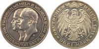 3 Mark 1911  A Preußen Wilhelm II. 1888-1918. Vorzüglich  45,00 EUR  zzgl. 4,00 EUR Versand