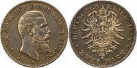 2 Mark 1888  A Preußen Friedrich III. 1888. Randfehler, Kratzer, sehr s... 55,00 EUR  zzgl. 4,00 EUR Versand