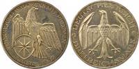 3 Mark 1929  A Weimarer Republik  Erstabschlag. Fast Stempelglanz  135,00 EUR  zzgl. 4,00 EUR Versand